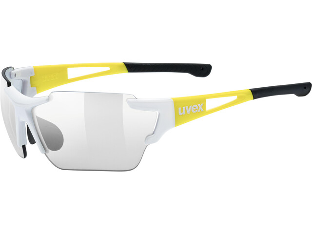 UVEX Sportstyle 803 Race VM Bike Glasses yellow/white